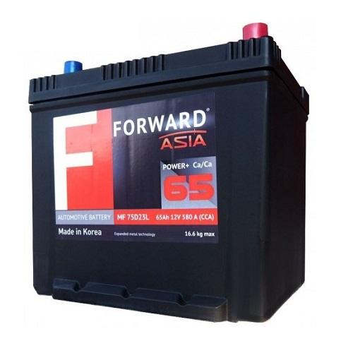 Аккумулятор FORWARD Asia MF 65 (п.п.)