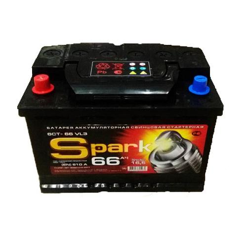 Аккумулятор SPARK 6СТ -66.0