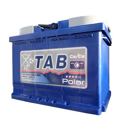 Аккумулятор TAB POLAR 6СТ- 66 ач о.п.
