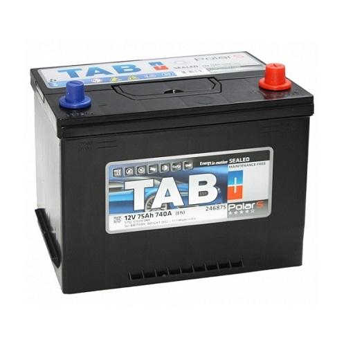 Аккумулятор TAB Polar S Asia 6СТ- 75 ач о.п.