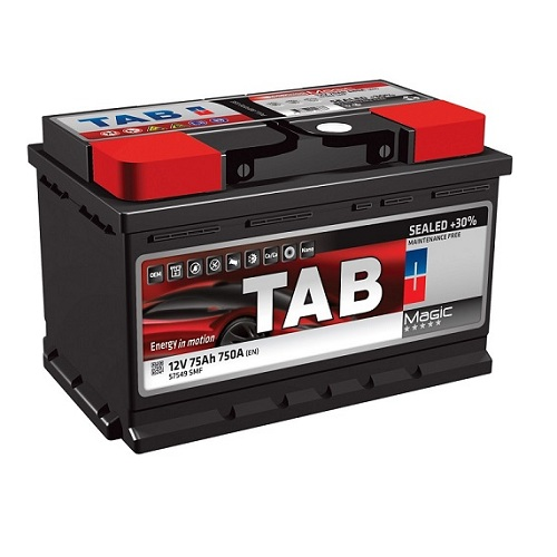 Аккумулятор TAB MAGIC 6СТ-75.0 низкий