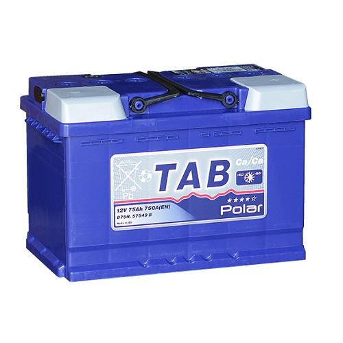 Аккумулятор TAB POLAR 6СТ- 75 ач о.п.