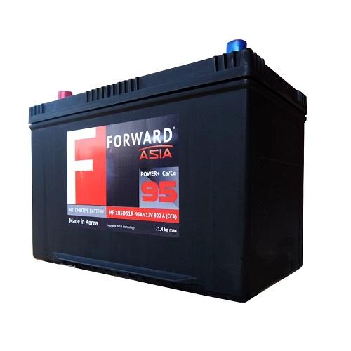 Аккумулятор FORWARD Asia MF 95 ач (о.п.)