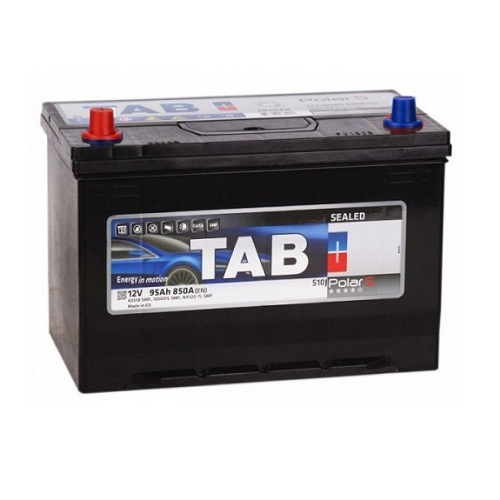 Аккумулятор TABPolar S Asia 6СТ- 95 ач п.п.