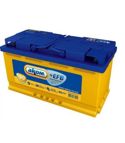 Аккумулятор AКОМ EFB 6СТ-100 N (о.п.)