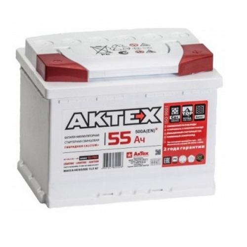 Аккумулятор АКТЕХ 6СТ-55.0 L3