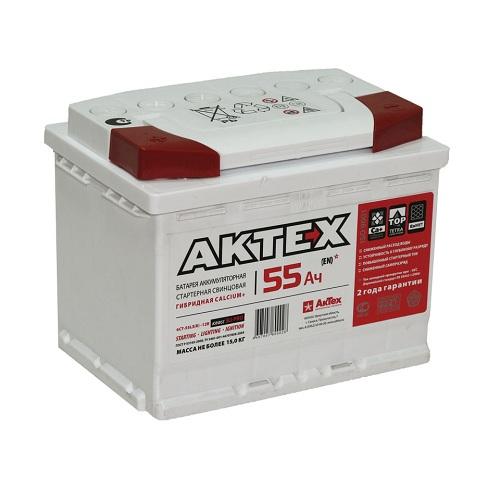 Аккумулятор АКТЕХ 6СТ-55.1 L3