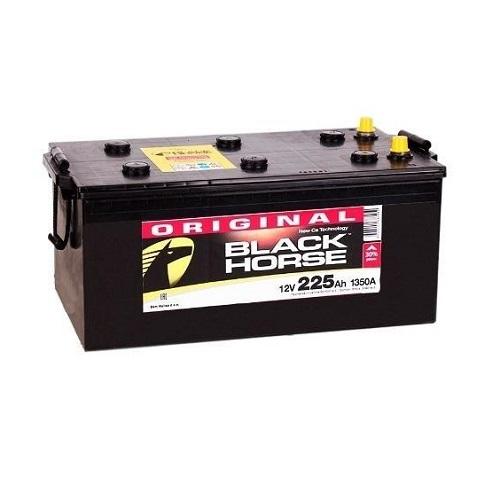 Аккумулятор Black Horse 6СТ-225 евро.конус