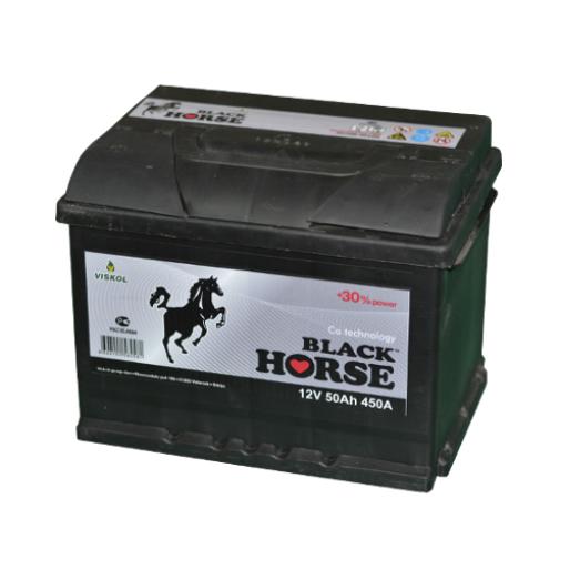 Аккумулятор Black Horse 6СТ- 45 ач о.п.