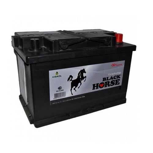 Аккумулятор Black Horse 6СТ- 75 ач о.п.