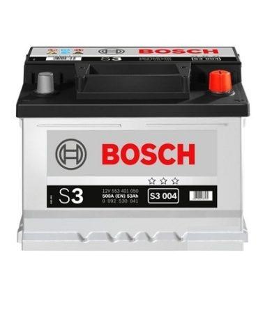 Аккумулятор BOSCH S3 53 R+ низкий