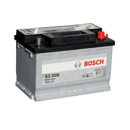 Аккумулятор BOSCH S3 70 R+
