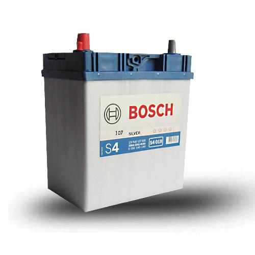 Аккумулятор BOSCH S4 40 ач п.п.  тонк.клеммы