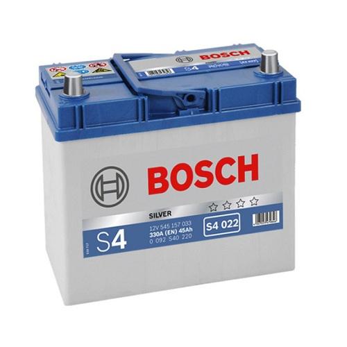 Аккумулятор BOSCH S4 45  тонк.клеммы