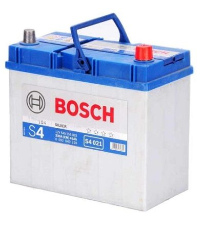Аккумулятор BOSCH S4 45 R+ толст.клеммы
