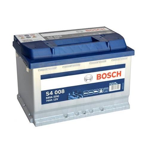 Аккумулятор BOSCH S4 74 R+