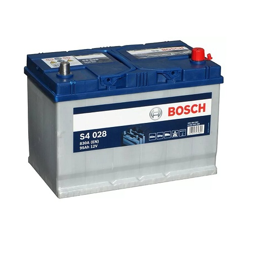 Аккумулятор BOSCH S4 95 ач о.п.  Jeep