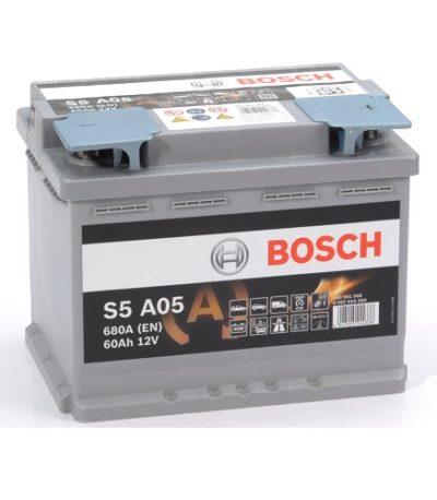 Аккумулятор BOSCH S5 60.0  AGM