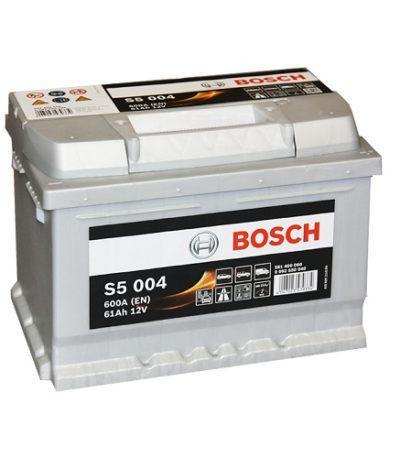 Аккумулятор BOSCH S5 61 ач о.п. низкий
