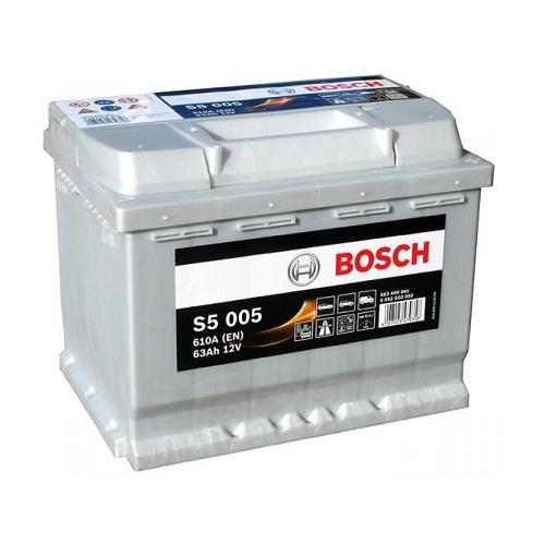 Аккумулятор BOSCH S5 63 R+