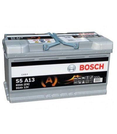 Аккумулятор BOSCH S5 95 R+  AGM