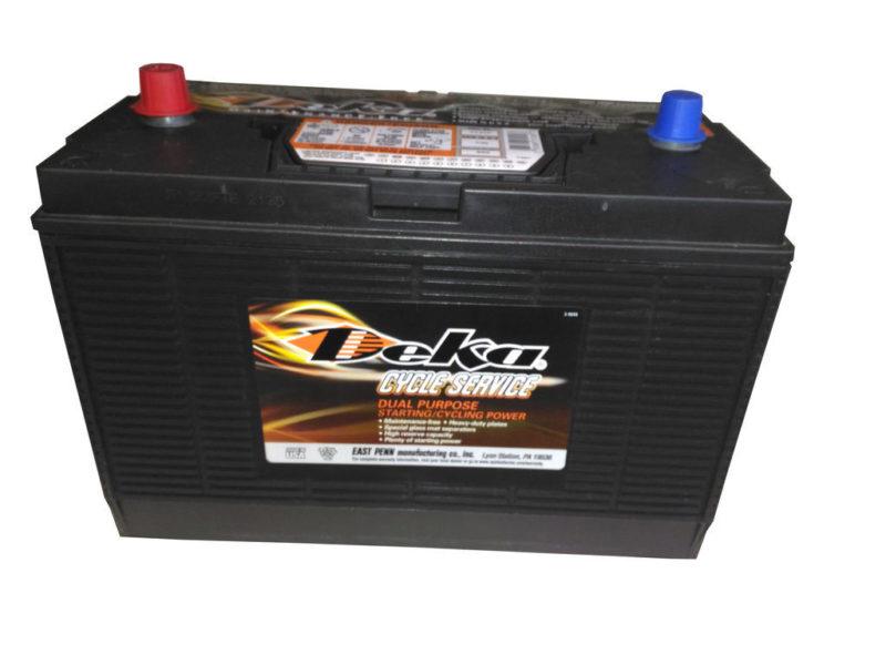 Аккумулятор DEKA 1231XPMF  6СТ-140  толст. кл. по центру