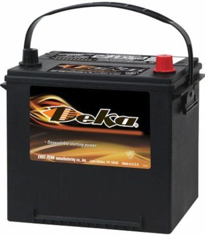 Аккумулятор DEKA 535 MF ASIA 6СТ-65 (о.п.) D23L  ниж.креп. яп.ст.