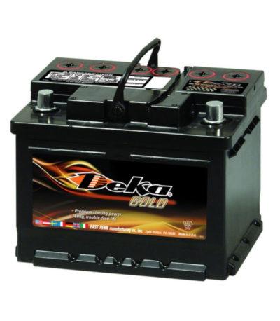 Аккумулятор DEKA 690 MF 6СТ-60  (о.п) низ.