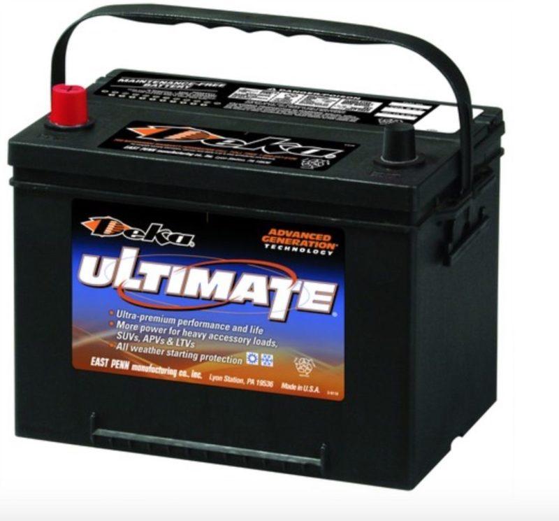 Аккумулятор DEKA Ultimate 734 RMF ASIA 6СТ-85  (о.п.) ниж. креп.