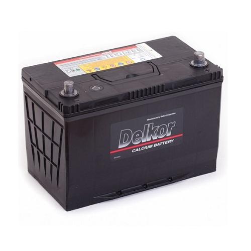 Аккумулятор DELKOR 6СТ-100  япон. ст.
