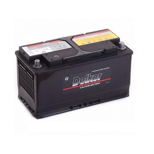 Аккумулятор DELKOR 6СТ- 100 ач (60038)