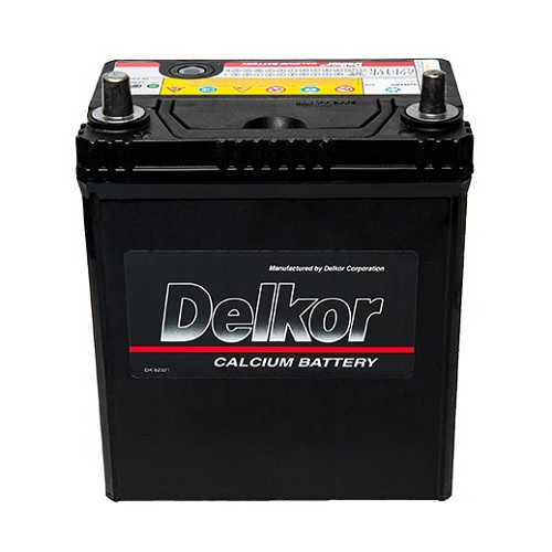Аккумулятор DELKOR 6СТ-40 R+  япон. ст. тонк.кл.