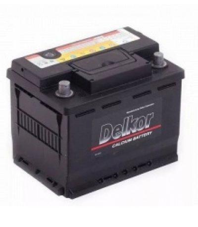 Аккумулятор DELKOR 6СТ-55  япон. ст. толст. кл