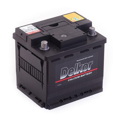 Аккумулятор DELKOR 6СТ- 55 ач (55568) uni
