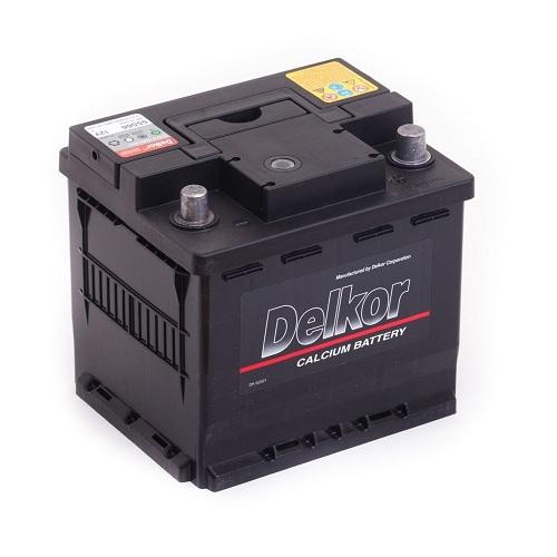Аккумулятор DELKOR 6СТ-55 R+ (55566) uni