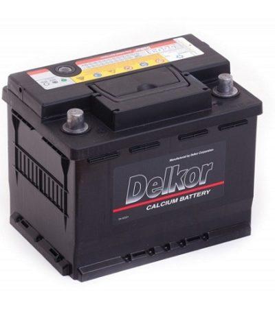 Аккумулятор DELKOR 6СТ- 60 ач япон. ст.
