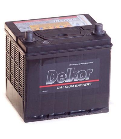 Аккумулятор DELKOR 6СТ-60 ач R+  япон.ст
