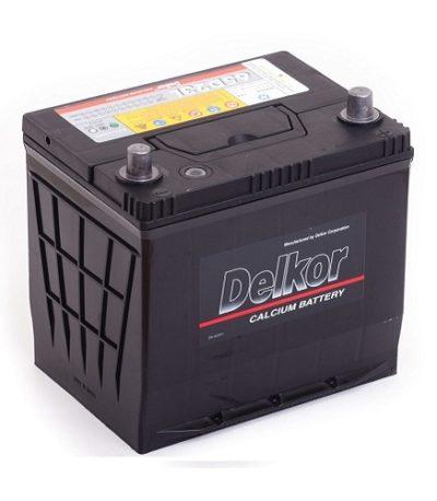 Аккумулятор DELKOR 6СТ- 60 ач R+  япон. ст.