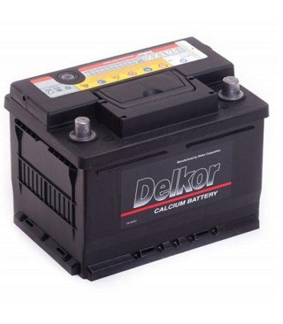 Аккумулятор DELKOR 6СТ- 61 ач (56177)