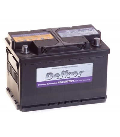 Аккумулятор DELKOR 6СТ-70 R+ (570 901 076) AGM