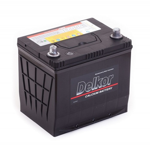 Аккумулятор DELKOR 6СТ-70 R+  япон. ст.