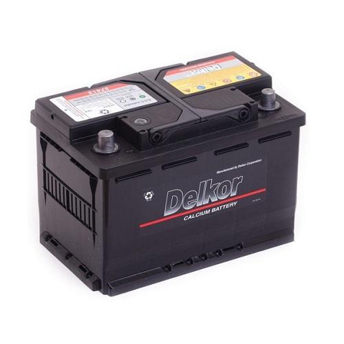 Аккумулятор DELKOR 6СТ- 74 ач (57413)