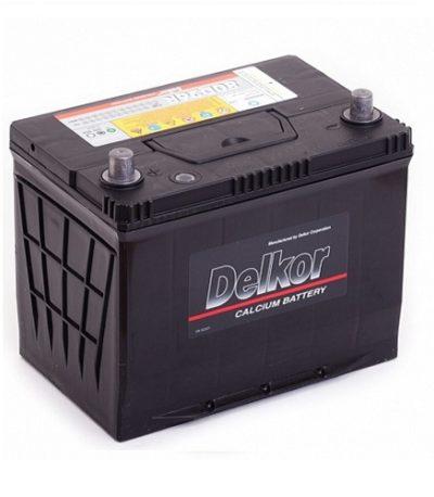 Аккумулятор DELKOR 6СТ- 75 ач япон. ст.