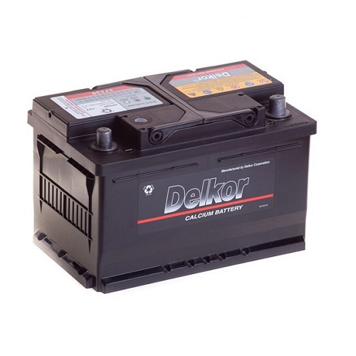 Аккумулятор DELKOR 6СТ- 75 R+ (57539)
