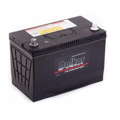 Аккумулятор DELKOR 6СТ- 90 ач п.п. (105D31R)
