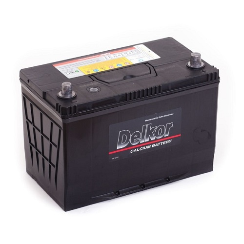 Аккумулятор DELKOR 6СТ-90 R+ (105D31L) япон. ст.