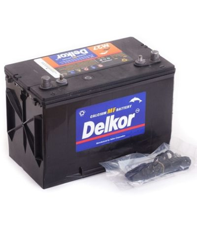 Аккумулятор DELKOR MARINE 6СТ-80  япон. ст. 4 клеммы
