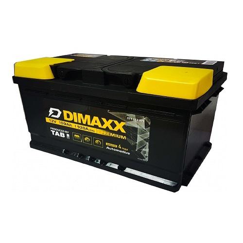 Аккумулятор DIMAXX  6СТ-100 оп низ.