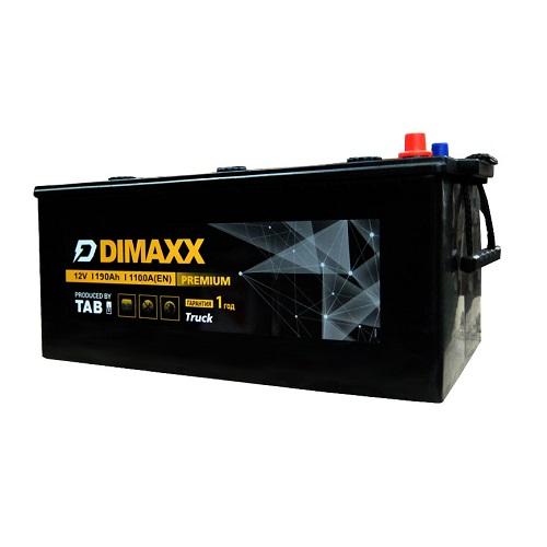 Аккумулятор DIMAXX  6СТ-190 евро