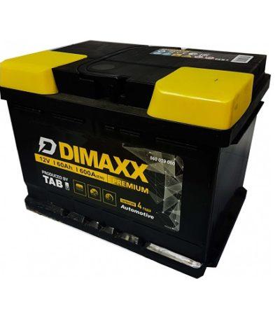 Аккумулятор DIMAXX  6СТ-  60 оп